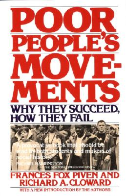 Poor People's Movements By Piven, Frances Fox
